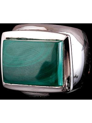 Malachite Men's Ring