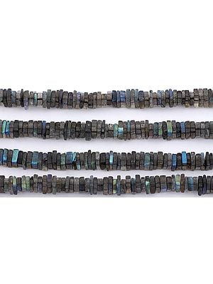 Labradorite Square Beads