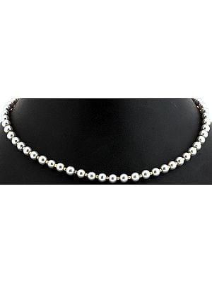 Faux Pearl Pendant Chain