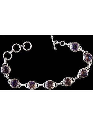 Faceted Mystic Topaz Bracelet