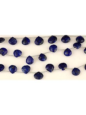 Faceted Lapis Lazuli Briolette