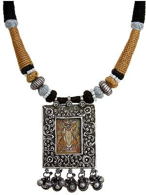 Choker with Shrinathaji Pendant