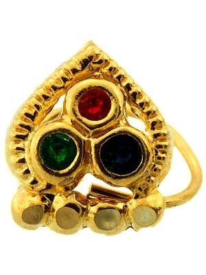 Meenakari Nose Ring