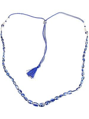 Faceted Kyanite Necklace
