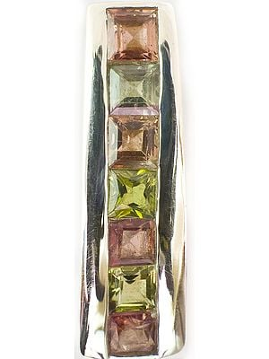 Faceted Tourmaline Pendant