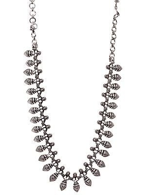 Sterling Handcrafted Ratangarhi Necklace