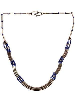 Antiquated Lapis Lazuli Necklace