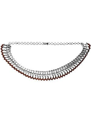 Garnet Fine Necklace