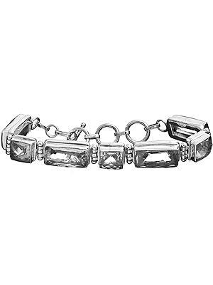 Faceted Crystal Bracelet