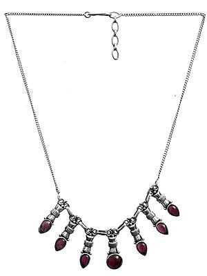 Garnet Necklace