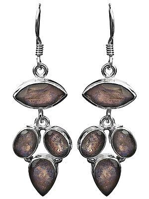 Faceted Labradorite Earrings