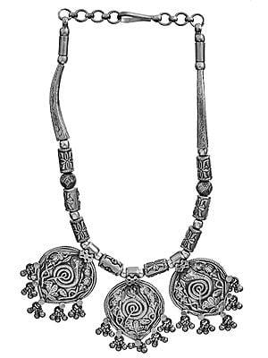 Triple Kundalini Necklace