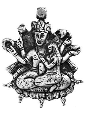 Vishnu-Lakshmi Pendant