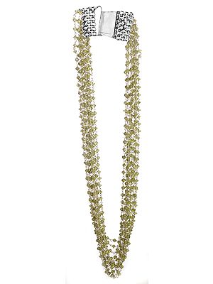 Prehnite Beaded Necklace