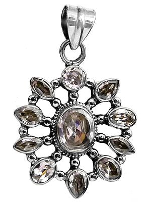 Faceted Crystal Pendant