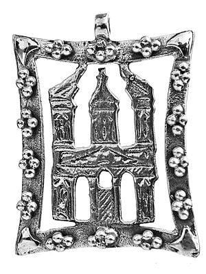 Sterling Minaret Pendant