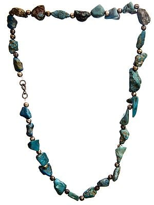 Rugged Turquoise Necklace
