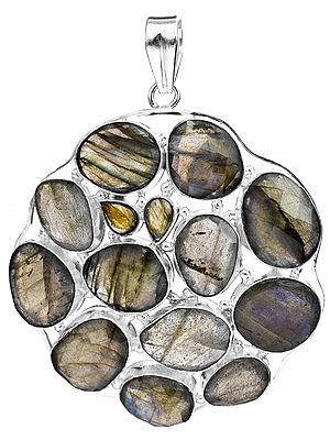 Faceted Labradorite Pot Pourri Pendant
