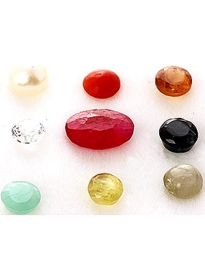Navaratna Gemstone Set (Undrilled)