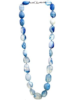 Chunky Blue Necklace