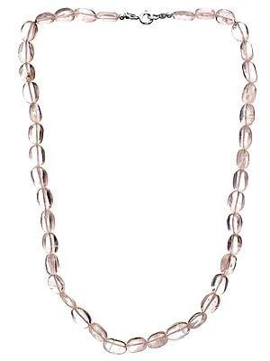 Rainbow Moonstone Nugget Necklace