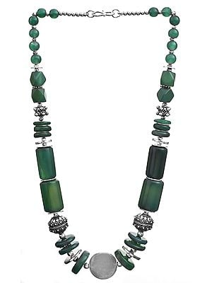 Green Onyx Fine Necklace