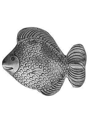 Sterling Drilled Fish (Price Per Piece)