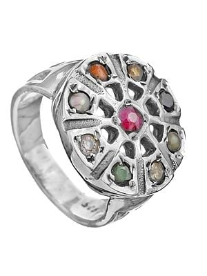 Navaratna Round-Shape Ring