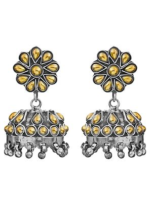Jhumka Post Earrings