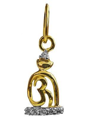 OM (AUM) Shiva Linga Pendant