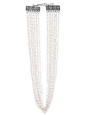 Gemstone Bunch Necklace