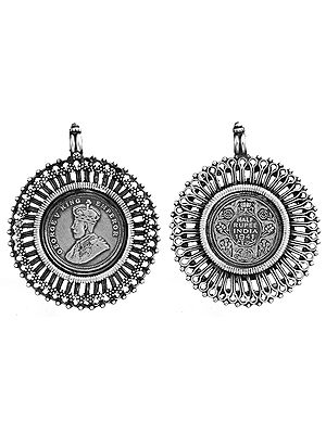 Emperor George V Double-Sided Coin Pendant
