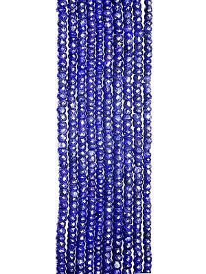 Blue Corundum Israel Cut Rondells