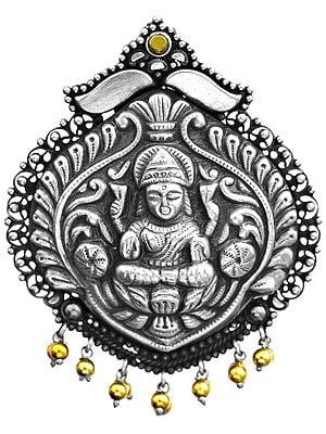 Devi Lakshmi Pendant (South Indian Temple Jewelry)