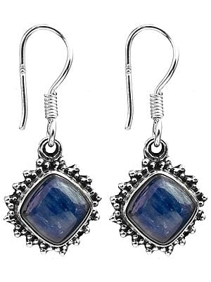 Kyanite Rhombus Earrings