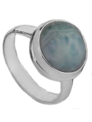 Larimar Circular Ring