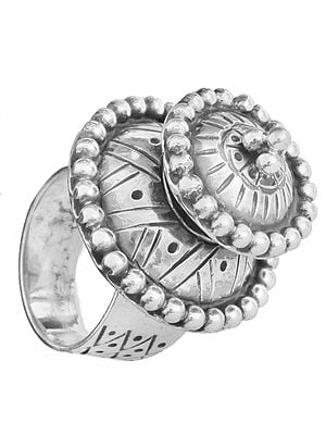 Sterling Two-Layer Ring