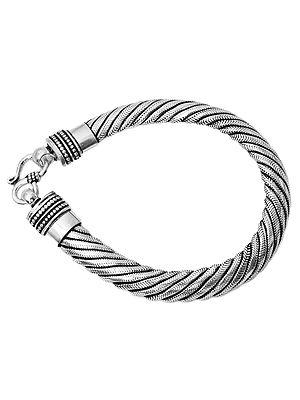 Knotted Rope Snake Bracelet