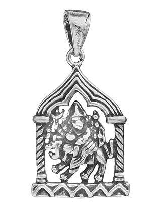 Devi Durga Pendant