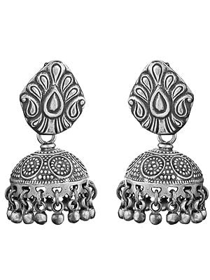 Paisleys Umbrella Chandeliers Earrings