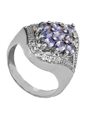 Superfine Tanzanite Ring