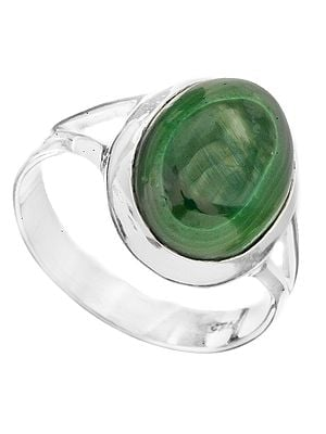 Gemstone Oval Ring