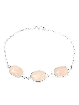 Gemstone Oval Bracelet
