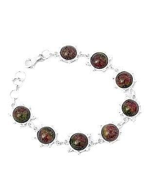 Gemstone Bracelet with Granulation