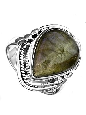 Gemstone Drop Ring