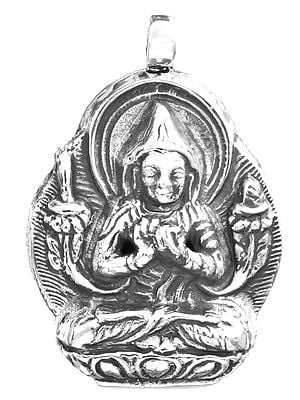 Tsongkhapa Pendant (The Great Buddhist Lama, Scholar and Reformer of Tibetan Buddhism)