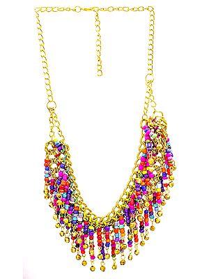 Multicolor Chandeliers Necklace