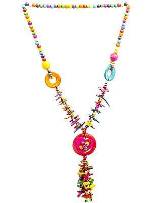 Multicolor Donut Necklace