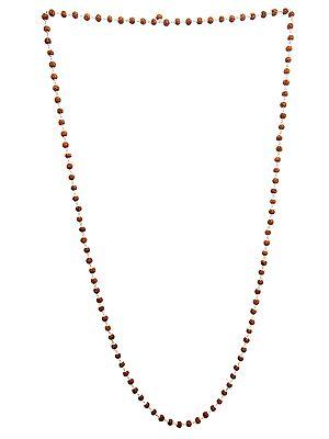 Rudraksha Mala (Rosary) 108 Beads for Chanting