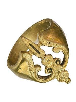 Trishul (Trident) Ring